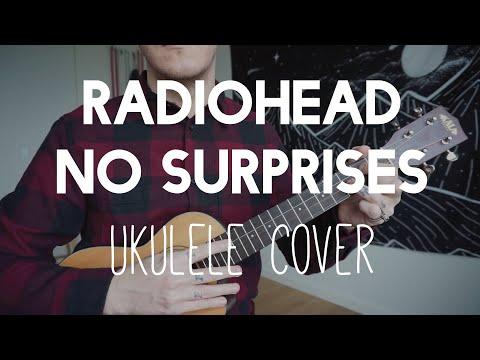 Radiohead - No Surprises ukulele cover