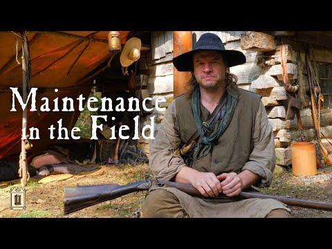 Flintlock Rifle Breakdown And Cleaning