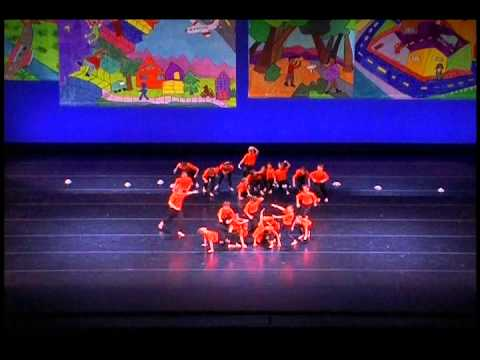 Daniel Bagley Elementary Ms. O's 4th Grade Class - 2015 Discover Dance