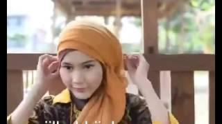 tutorial hijab untuk acara wisuda dan pesta