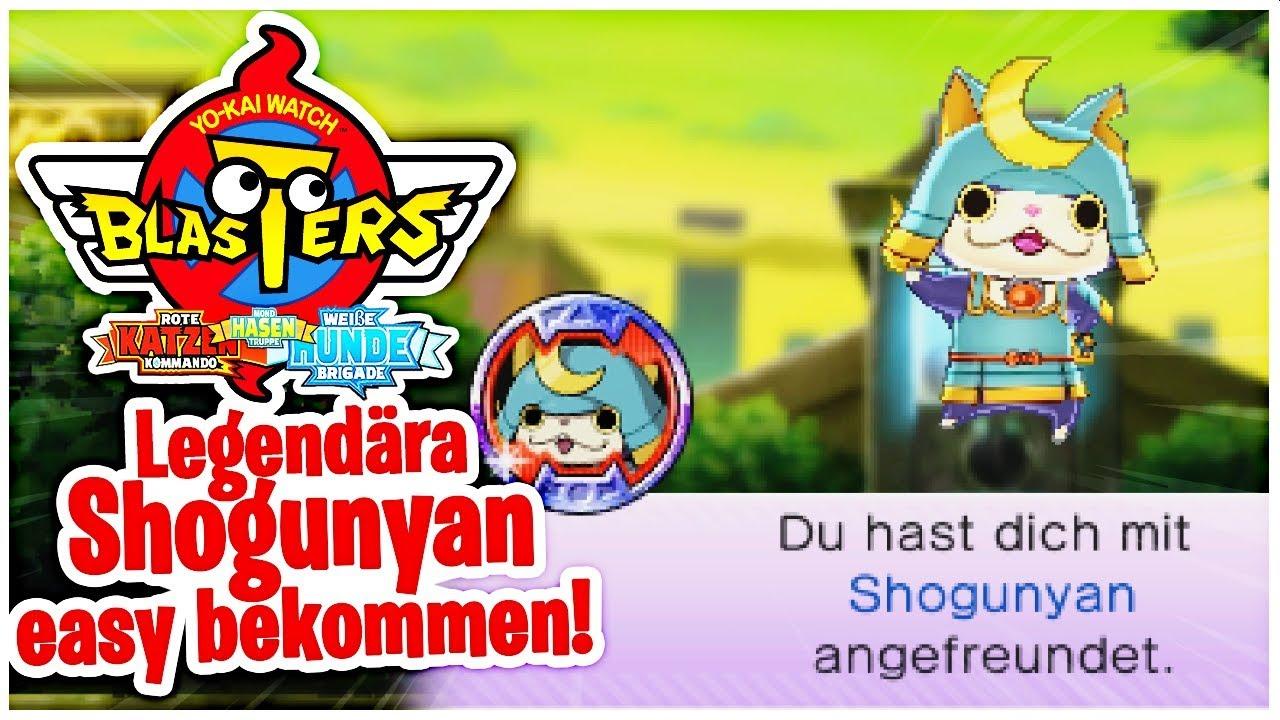 yo kai watch blasters qr code shogunyan