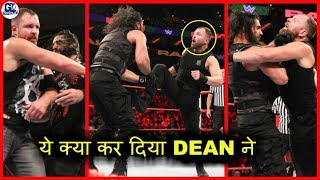 Dean Trying Dirty Deeds on Seth | Raw 15 October 2018 Highlights | Shield vs Dogs of War