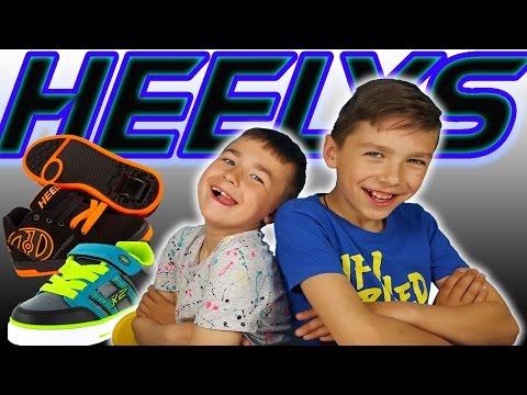 ✔ Супер Кроссовки на колёсах Хилисы ✔ Настоящие Heelys это круто ✔ Как кататься на Хилисах
