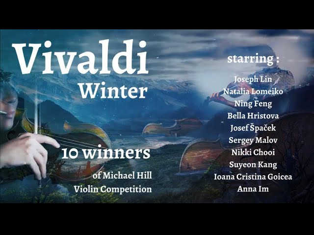 Vivaldi Winter Violin Medley by 10 Winners of Michael Hill Violin Competition