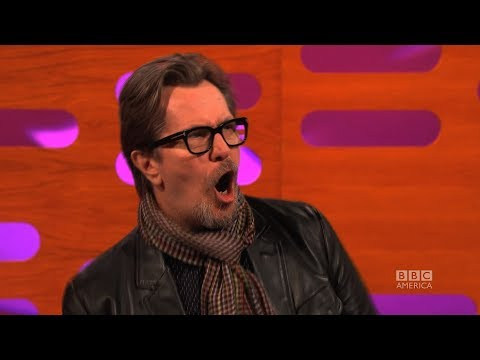 GARY OLDMAN on His Screaming Role in CALL OF DUTY  The Graham Norton  on BBC AMERICA