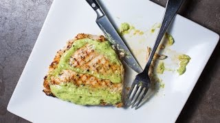 Chicken With Green Onion Pesto Recipe By Sam The Cooking Guy