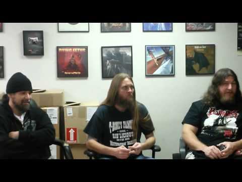 OBITUARY - Interview at Relapse HQ