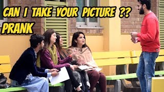 CAN I TAKE YOUR PICTURE PRANK | University of Lahore | Haris Awan