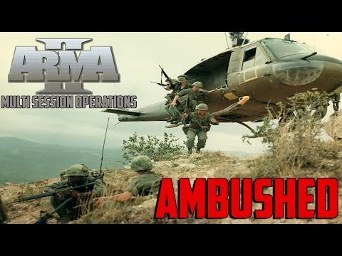 ARMA 2 MSO Vietnam - Ambushed