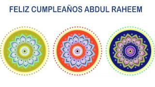 AbdulRaheem   Indian Designs - Happy Birthday