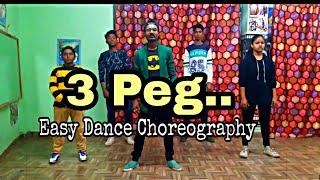 3 Peg Sharry Mann || Easy Dance Choreography - Aditya Jacker || A.k. Rockers Dance Academy Mandhana