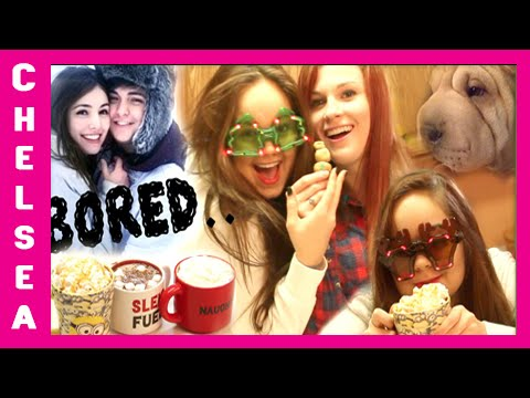 How To NOT Be Bored Over Break! - Holiday Break Ideas - Chelsea Crockett