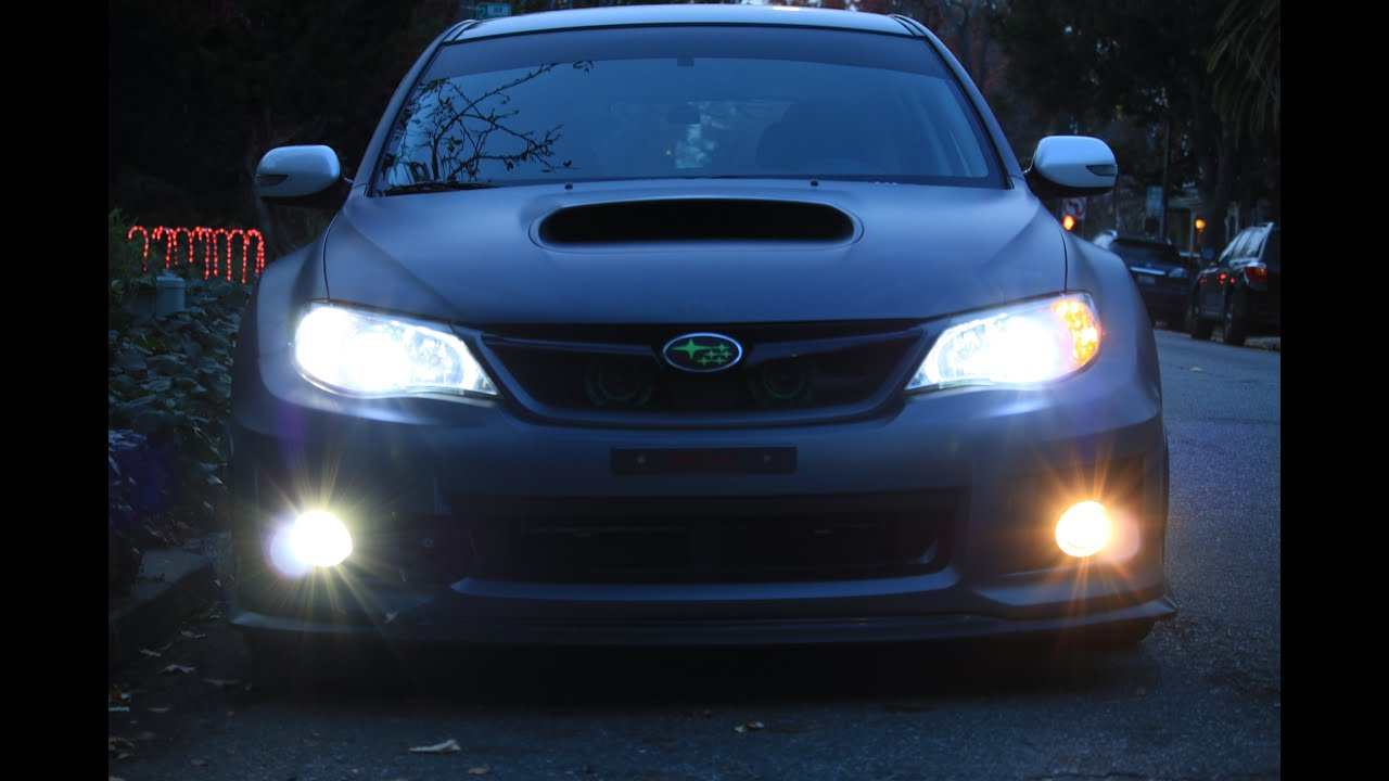 2015 Subaru Impreza Led Headlights