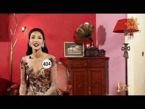 INTERVIEW | Hoàng Thị Thùy, SBD 404 | Top 45 Miss Universe Vietnam
