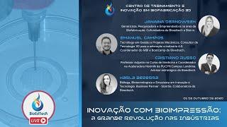 INOVAÇÃO COM BIOIMPRESSÃO: A GRANDE REVOLUÇÃO NAS INDÚSTRIAS