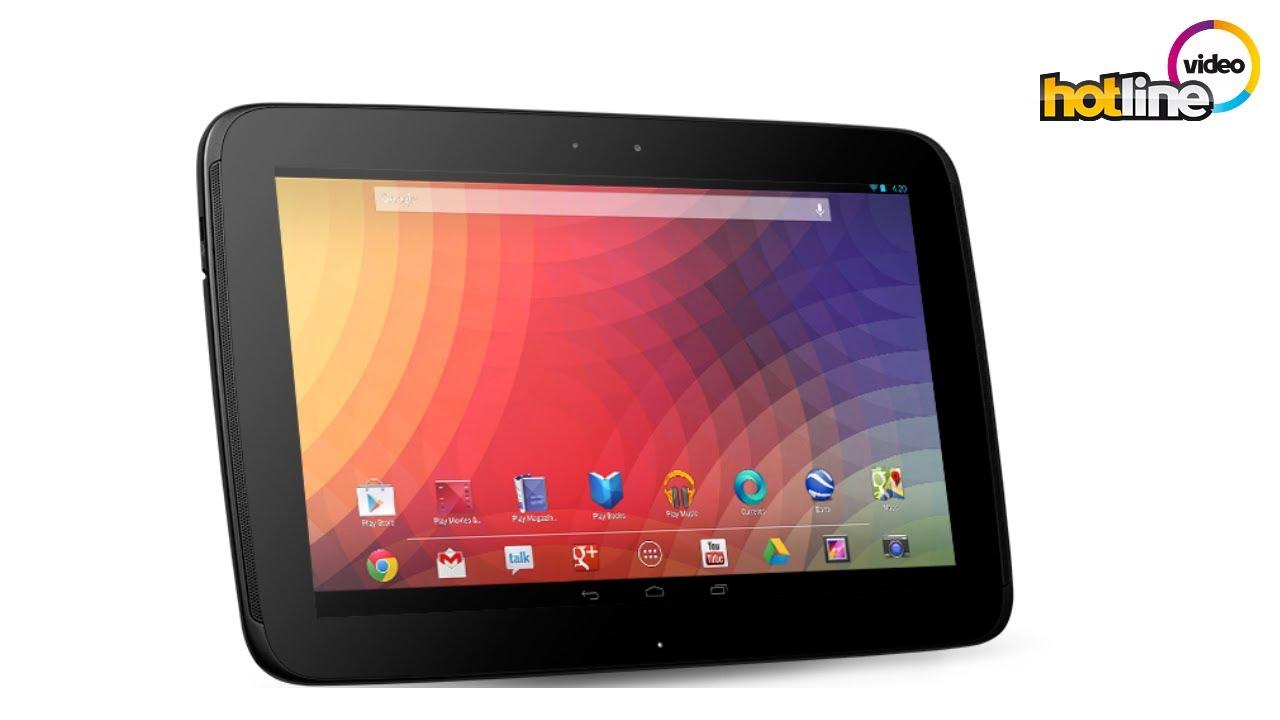 Обзор планшета Samsung Google Nexus 10