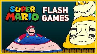 The Strange World Oḟ Super Mario Flash Games...