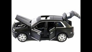 Машинка Newao Model 1 32 Rolls Royce Cullinan 16 см A3212 инерционная Черный