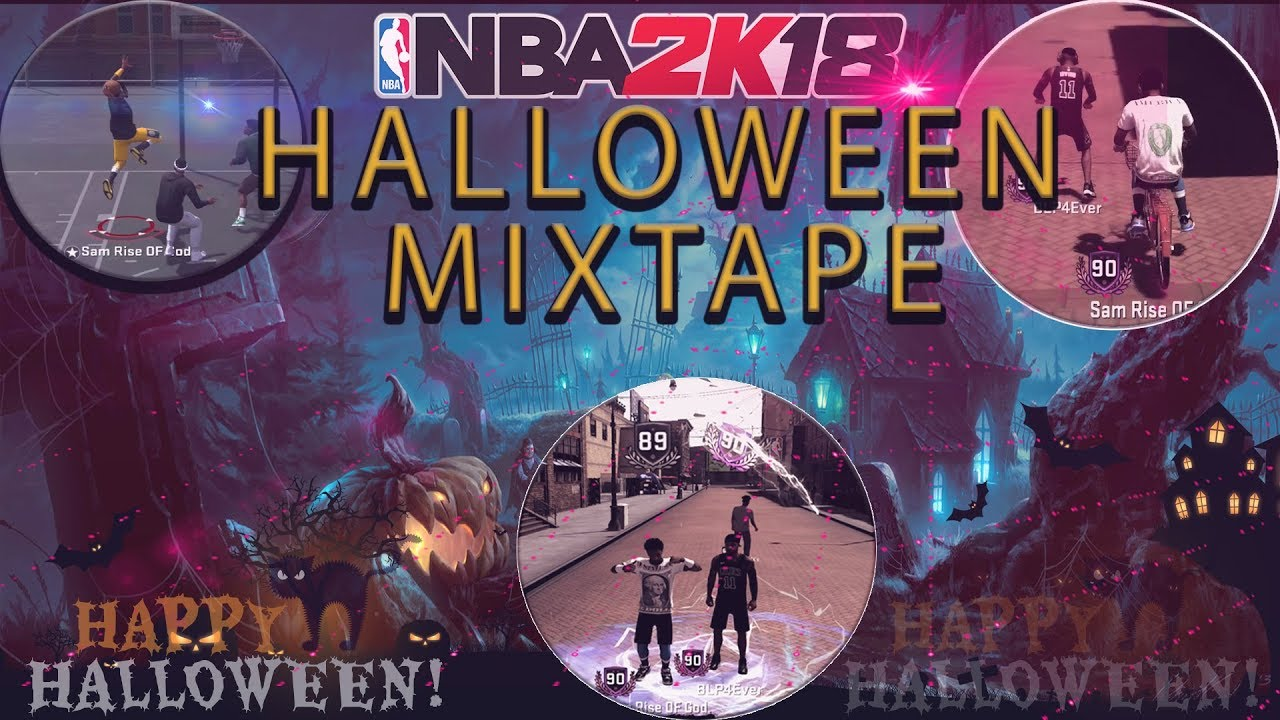 nba 2k18 |the purge halloween mixtape | ragingsam is trash now