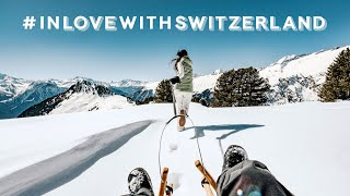 The days are longer in Switzerland – Come and see for yourself. Winter fun in Switzerland.