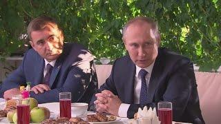 Президента РФ Владимир Путин встретился в Ясной поляне с тульскими общественниками
