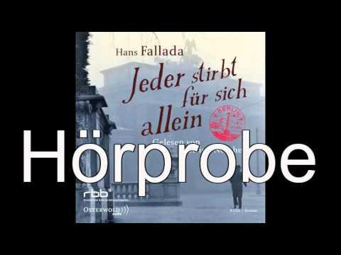 Jeder stirbt für sich allein YouTube Hörbuch Trailer auf Deutsch
