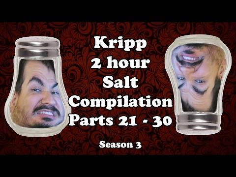 Kripp - 2 Hour Salt Compilation [Parts 21 - 30] Full Season 3