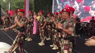 Download Lagu Selamat Ulang Tahun(Jamrud) Panggung Musik Kopassus|Hut Ke 67 Kopassus mp3