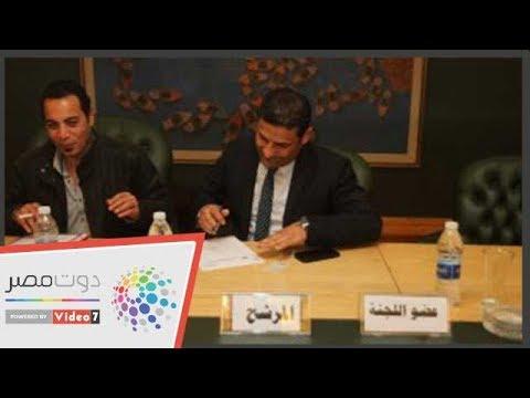 يوسف أيوب يقدم أوراق ترشحه لعضوية مجلس نقابة الصحفيين  - 13:55-2019 / 2 / 11