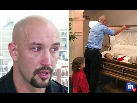 Father who shared photos of his wife, child in coffin speaks to DMTV - Daily News