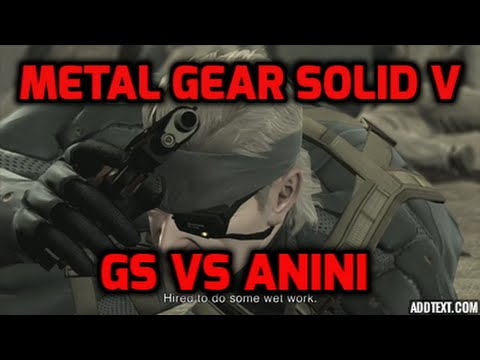 Driven by salt (vs Anini) I Metal Gear Solid V : The Phantom Pain