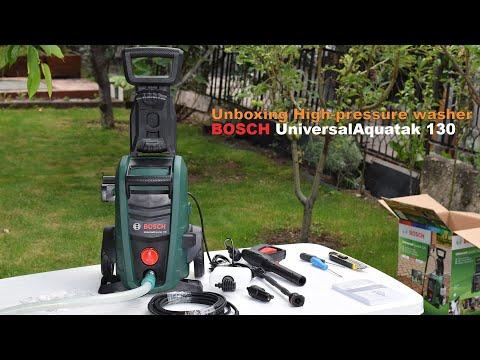 Unboxing High pressure washer BOSCH UniversalAquatak 130 - Bob The Tool Man