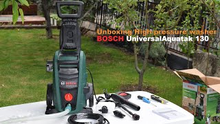 Unboxing High pressure washer …