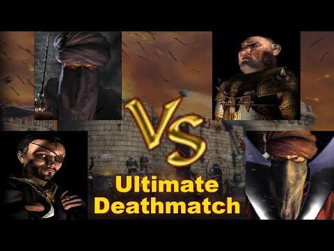 Snake, Caliph, Pig, Wazir FFA - Ultimate Deathmatch   Stronghold Crusader AI-Battle