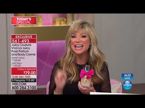 HSN | Juicy Couture Fragrance Gifts / Beauty Gifts 11.09.2017 - 12 AM
