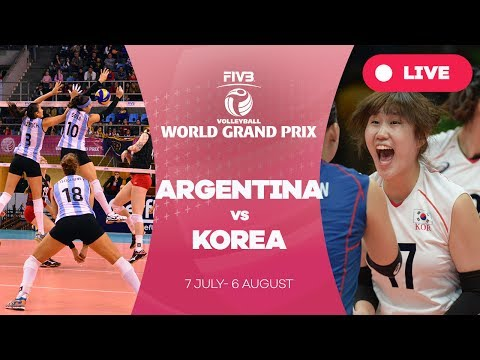 Argentina v Korea - Group 2: 2017 FIVB Volleyball World Grand Prix