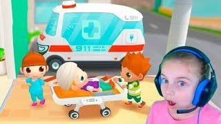 Симулятор больницы или Как я открыла свою больницу в игре для детей