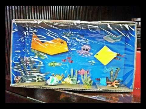 Diorama Marine Life - YouTube