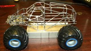 1/25 Scale Rc Monster Truck Build Part 1
