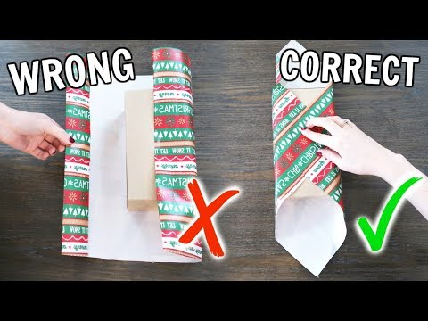 LifeChanging Gift Wrapping Hacks