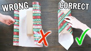 Life Changing Gift Wrapping Hacks