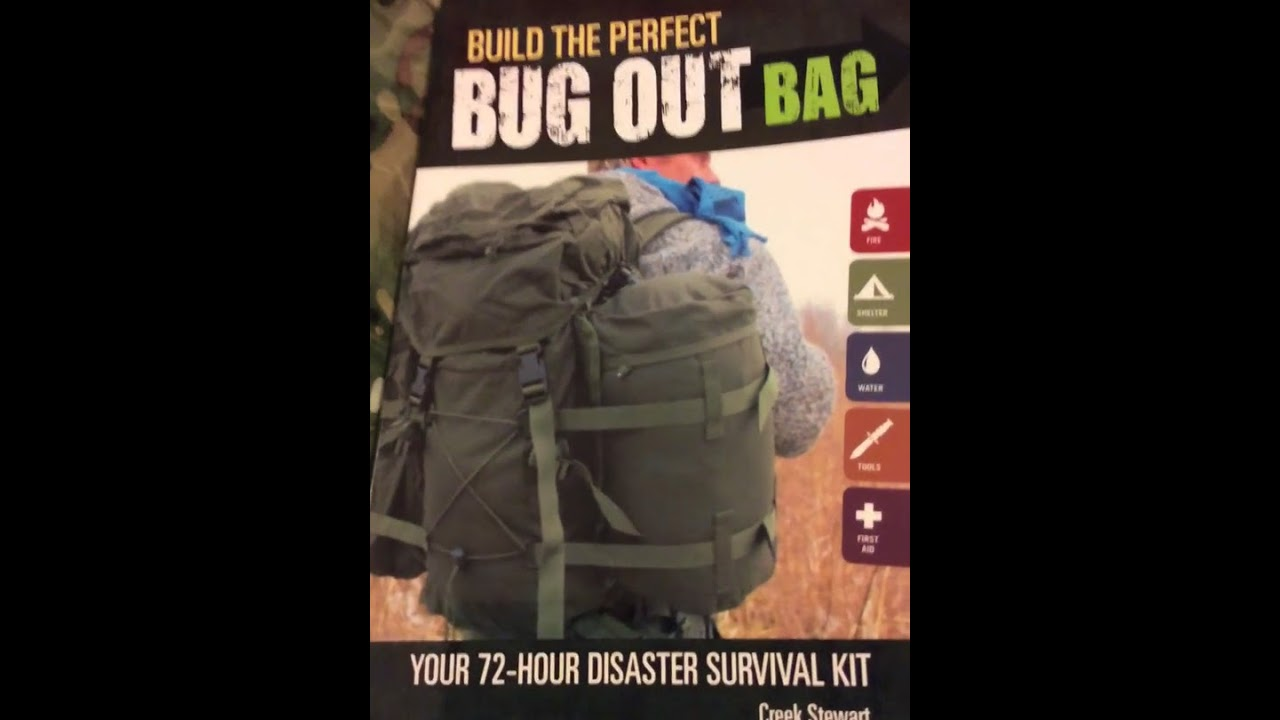 Review Of Creek S Book Build The Perfect Bug Out Bag