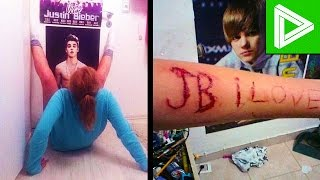 10 INSANE Justin Bieber Fans You Won