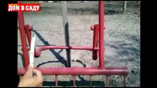 Как быстро и легко вскопать огород. Как сделать свою чудо-копалку(Сергей Бабенко из Павлограда придумал шикарный способ, а главное, инструмент для того, чтобы быстро и легко..., 2015-05-05T20:40:32.000Z)