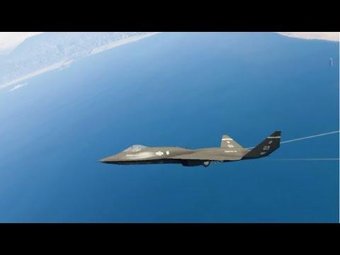 GTA V - Northrop McDonnell Douglas YF 23 Add On Replace EnRoMovies