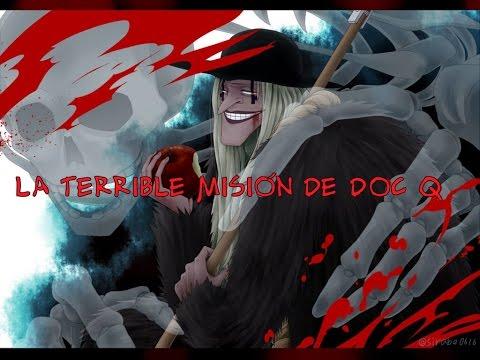 El plan de Kurohige / La misión de Doctor Q ~ One piece teoría