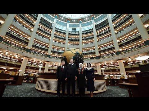 Cumhurbaşkanlığı Millet Kütüphanesi açıldı, 100 ülkeden 4 milyonu aşkın kitap halkla buluştu…