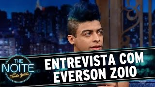 The Noite (11/11/16) - Entrevista com Everson Zoio