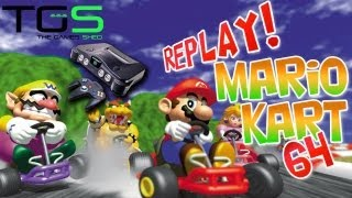TGS Replay Part 1: Mario Kart 64 on the N64 - Mark vs Jamie