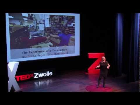 The experience of a transaction: Heather Schlegel at TEDxZwolle